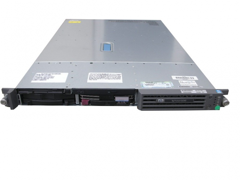 Сервер HP ProLiant DL360 G3 #1