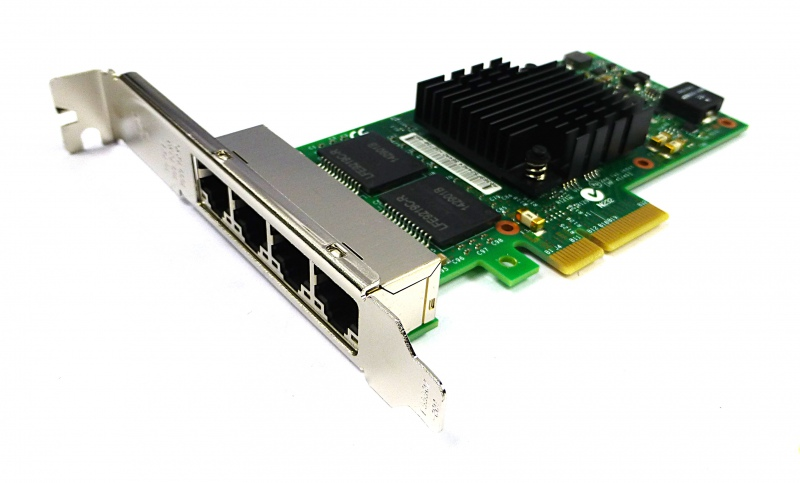 Server LAN INTEL Ethernet Server Adapter I350-T4 (I350T4BLK) #1