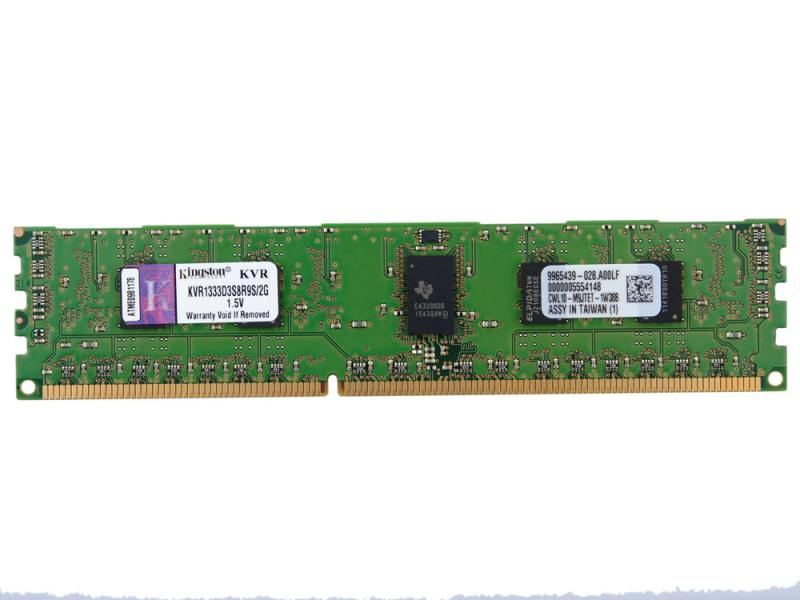 DDR3 DIMM ECC REG KINGSTON 2Gb PC3-10600R #1
