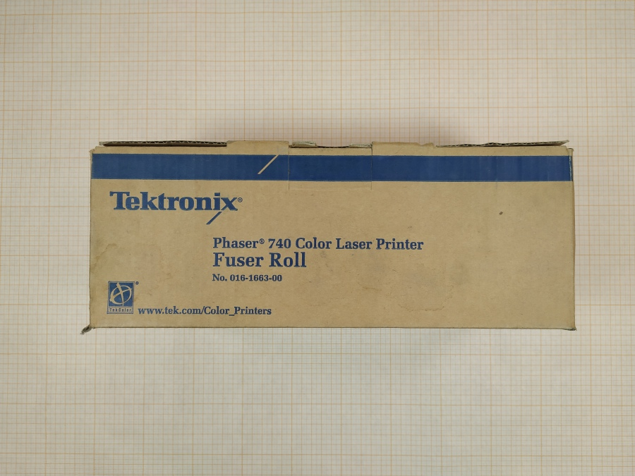 165-032-001 Блок очистки фьюзера XEROX Phaser 740 Color Laser Printer Fuser Roll #1